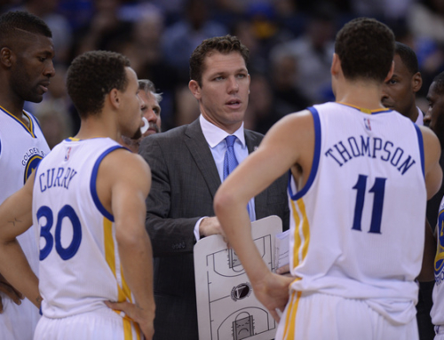 Luke Walton Uses The Core X System With The Golden State Warriors!