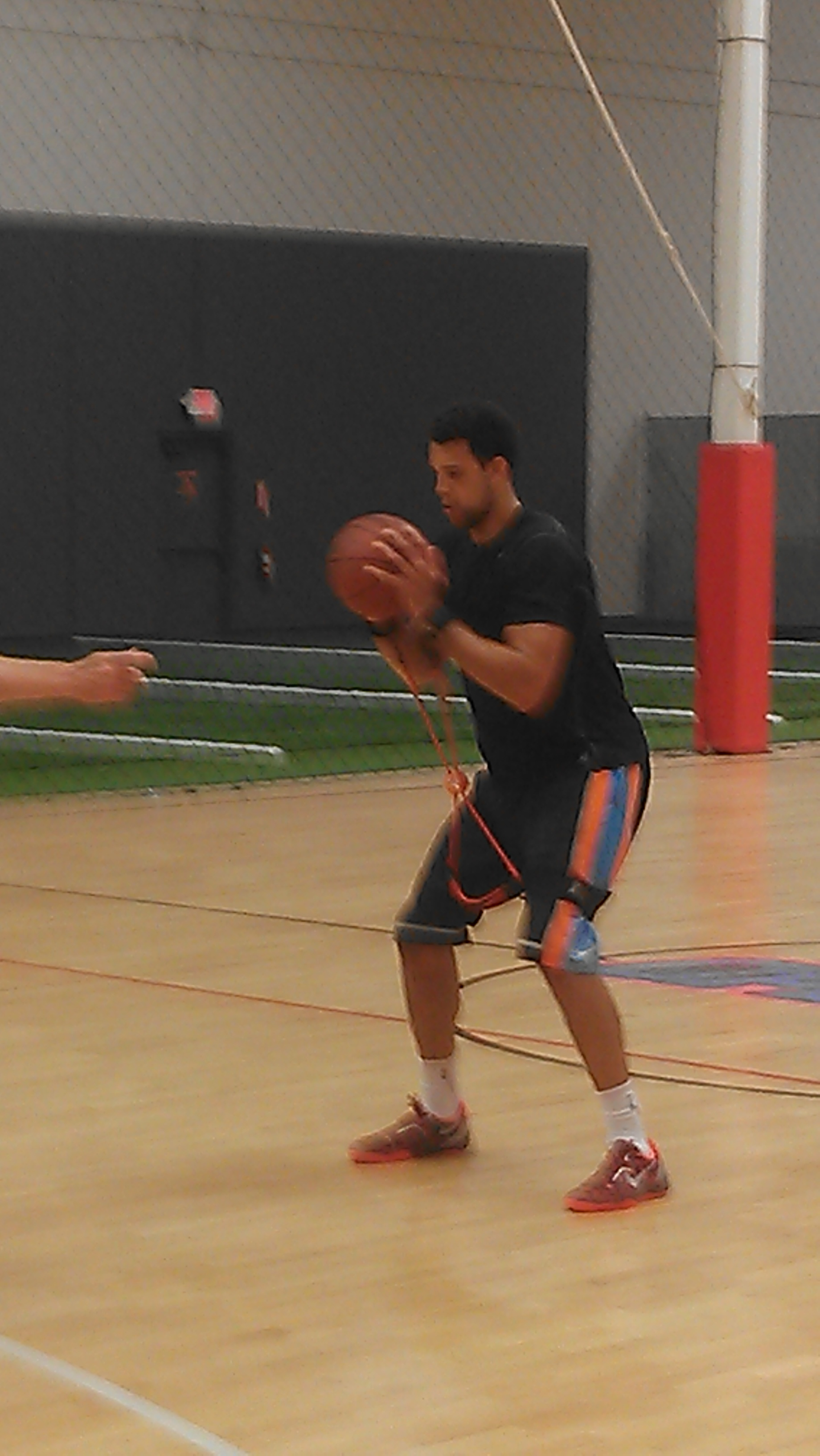 Landry Fields with Core X System