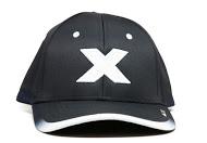 CXS416L black cap white X front view