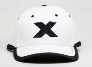 CXS416L white cap black X front view